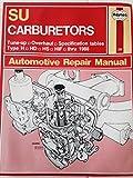 img - for Haynes Su Carburetors Thru 1988/No. 299 book / textbook / text book