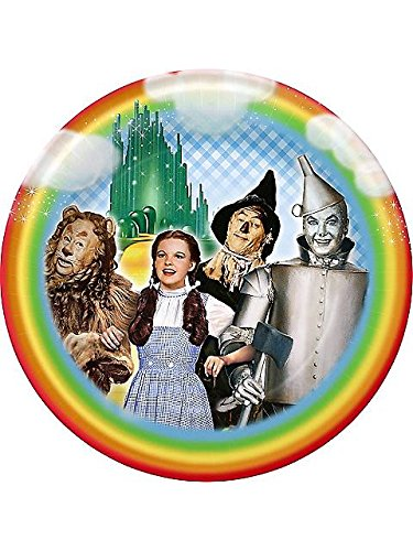 Wizard Of Oz Large Paper Plates (8Ct) front-981404