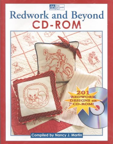 Redwork and Beyond Cd-Rom: 201 Redwork Designs