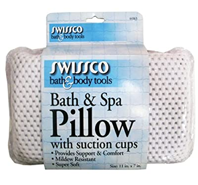 Best Cheap Deal for Swissco Bath and Spa Pillow with Suction Cups from Swissco - Free 2 Day Shipping Available