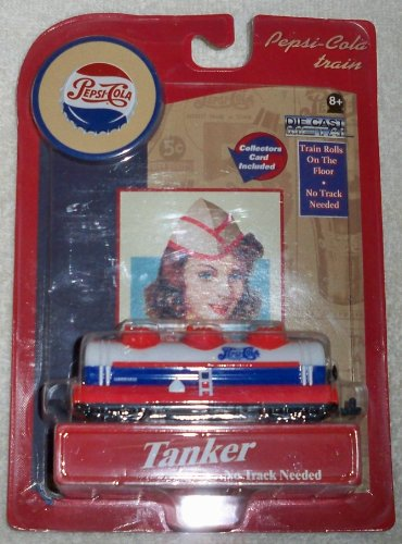 Pepsi Cola Train Die Cast Metal Tanker
