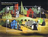 2011 Royal Shakespeare Company Stamp Miniature Sheet