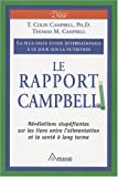 Le Rapport Campbell : La plus vaste �tude internationale � ce jour sur la nutrition