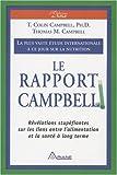Le Rapport Campbell : La plus vaste �tude internationale � ce jour sur la nutrition