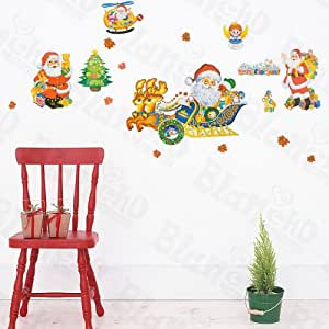 Christmas gifts decorative wall stickers for Christmas wall art amazon