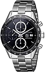 TAG Heuer Men's CV2010BA0794 Carrera Black Dial Watch