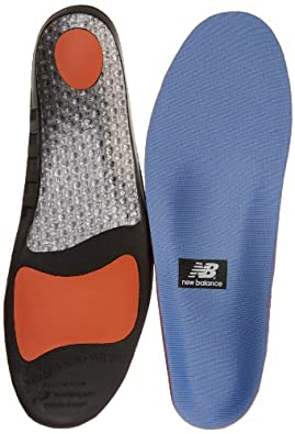 New Balance Insoles IUSA3810 Supportive Cushioning Insole,10.5 US Womens/9 US Mens