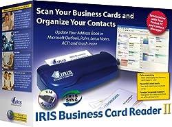 IRIS Business Card Reader II for Windows/PC