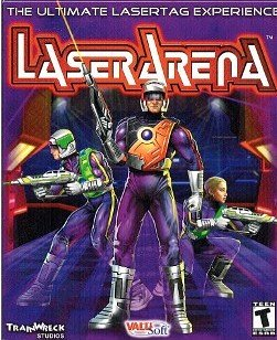 [CD-ROM Game] Laser Arena, The Ultimate Lasertag Experience by Train Wreck Studios