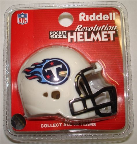 Tennessee Titans Riddell Revolution Pocket Pro Football Helmet at Amazon.com