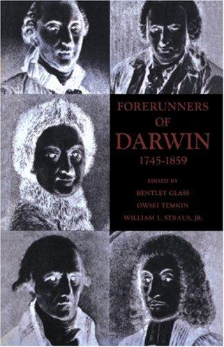 Forerunners of Darwin, 1745-1859