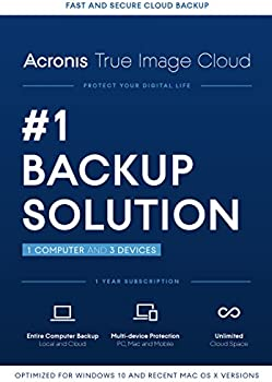 Acronis True Image Cloud 2016 1 PC & 3 Devices
