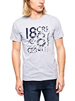 Cerruti Camiseta Manga Corta CMM8022350 C0842 (Gris Jaspeado)
