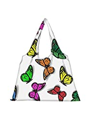 Snoogg High Strength Reusable Shopping Bag Fashion Style Grocery Tote Bag Jhola Bag - B01B978L30