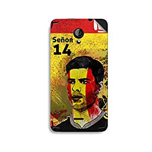 ezyPRNT Micromax Unity 2 A106 Xabi Alonso Football Player mobile skin sticker