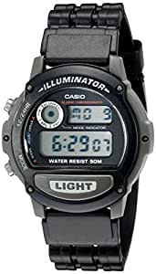 Casio W87H-1V Sports Wrist Watch (Black)