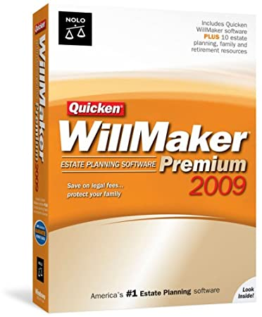 Quicken WillMaker Premium 2009
