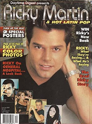 Enrique Iglesias, Jennifer Lopez, Carlos Ponce, Shakira - Daytime Digest Presents Ricky Martin & Hot Latin Pop Magazine [Summer, 1999]