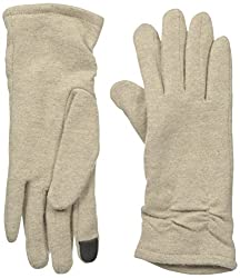 Gloves International Women's Wool Blend Gloves with Cinch, Camel, X-Large