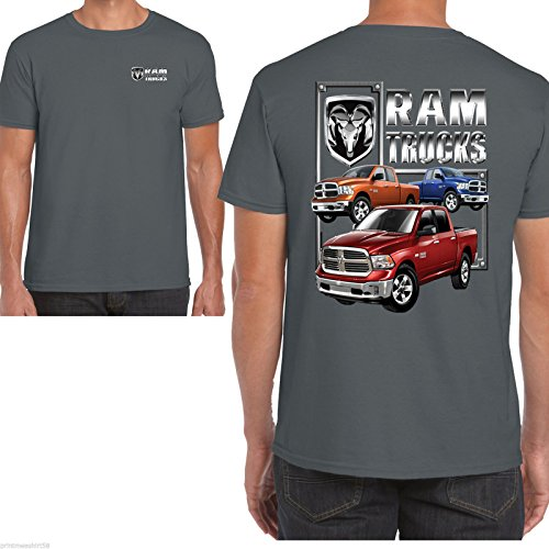 Hotrod 58 dodge ram -  T-shirt - Uomo Grey Large