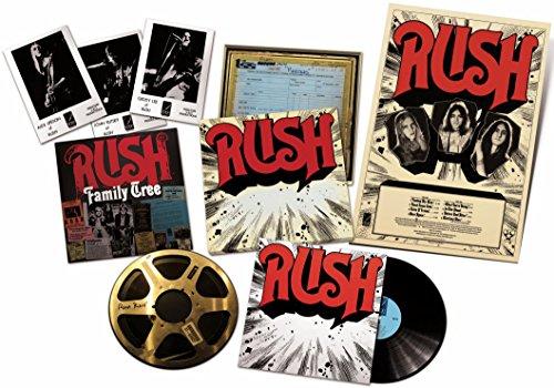 RUSH - ReDISCovered LP box