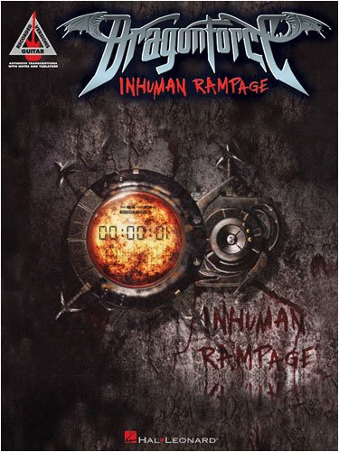 Dragonforce - Inhuman Rampage - Guitar Recorded Version Songbook