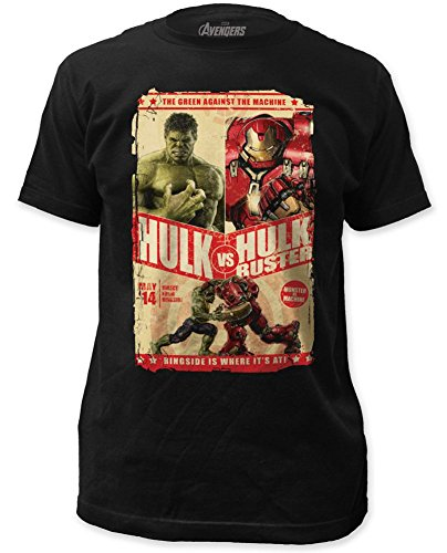 Avengers: Age of Ultron Hulk Monster VS Machine Marvel T-Shirt