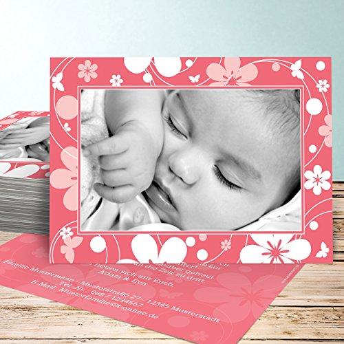 Dankeskarten Geburt selber basteln, Vatulele 55 Karten ...