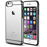 iPhone 6 case - INVELLOP GRAY/CLEAR iPhone 6 Case [Prime Series] Scratch-Resistant Clear Slim Fit Cover with Shock Absorbent TPU Hybrid Bumper Protection iPhone 6 4.7 Case (Gray/Clear)