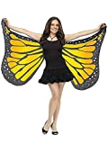 Soft Butterfly Wings Adult Costume Accessory Orange