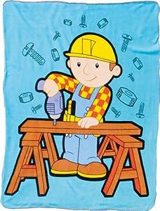 United Labels AG 107120 - Bob the Builder Decke 130x160 cm
