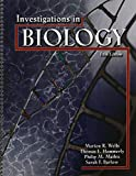 img - for INVESTIGATIONS IN BIOLOGY by BARLOW SARAH F (2008-08-04) book / textbook / text book