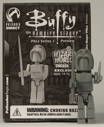 Buffy the Vampire Slayer Test Shot Palz Preview Figure