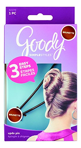 Goody Simple Styles Updo Hair Pin, Brunette, 1-count, (1941089) (Hair Updo Clip compare prices)