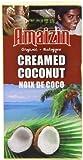 Amaizin Organic Creamed Coconut 200 g (Pack of 12)