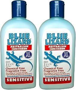 Blue Lizard Sensitive Sunscreen SPF 30+-8.75 oz, 2 pack