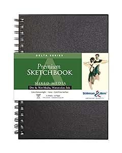 Delta Wirebound Sketchbook 7X10