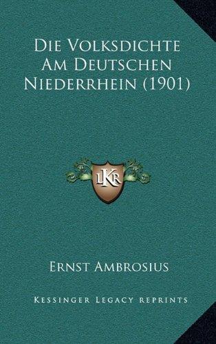 Die Volksdichte Am Deutschen Niederrhein (1901)