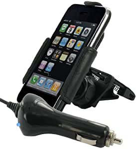 G-Mobility GRGMCMRIPW Support voiture Deluxe Air ACTIF pour iPhone©
