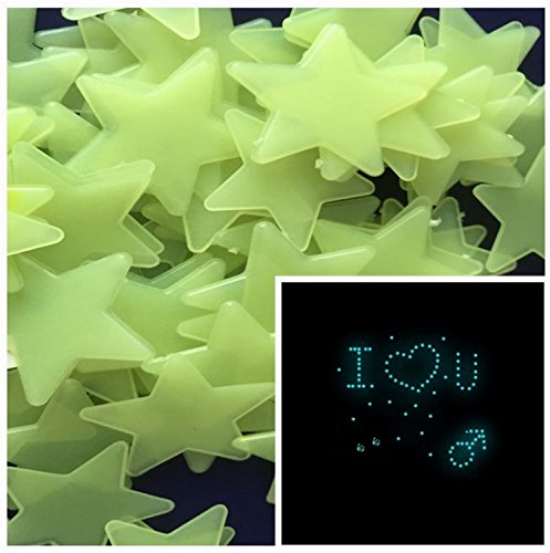 200pcs-home-wall-glow-in-the-dark-stars-stickers-decal-baby-kids-nursery-room-diy-wall-decal-light-g