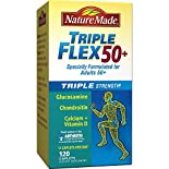 Nature Made TripleFlex 50+, Triple Strength, Caplets, 120 caplets