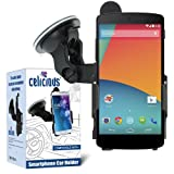 Celicious Dedicated Fit-In Car Suction Mount Holder for Google Nexus 5