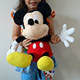DISNEY MICKEY MOUSE or MINNIE MOUSE BIG LARGE Soft Plush Cuddly Stuffed Beanies Dolls Toys Kids Childrens Girls Boys Mens Womens Ladies Toy (Mickey Mouse)