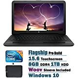 2017 HP Touchscreen Flagship High Performance 15.6 Inch HD Laptop PC, Intel I3-7100U Dual-Core, 8GB DDR4, 1TB...