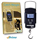Catch Weight Pro 2, Digital Fishing Weighing Scales- The Latest In Fishing Equipment Digital Hand Held Fishing Scale! Compact In Design , This Easy To Use Scale Shows You The Weight In lbs Ounces & Kilograms On The LCD Backlit Screen
