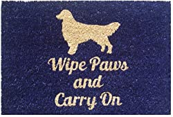 Mats Matter Wipe paws & carry On-Doormat(40 x 60 CM)