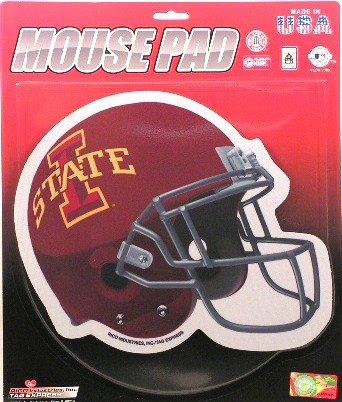 NCAA Iowa State Cyclones Football Helmet Design Mouse Pad (Iowa State Football Helmet compare prices)