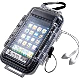 Pelican i1015 Clear case with a black liner For iPhone Water Resistant