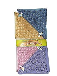 Milano Ladies Fancy cotton hankies- 12 Pcs Pack