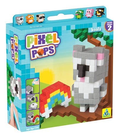 The Orb Factory Pixel Pops Koala Building Kit - 1